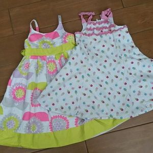 Other - Set of 2 Girls Fancy Dresses size 5